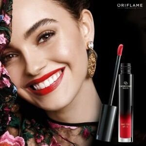 Oriflame Giordani Gold Iconic Lip Elixir-true red, long lasting with argan oil
