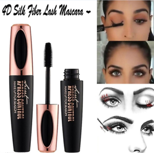 Mascara-Waterproof-4D-Silk-Fibre-Eyelashes-Lash-Make-Up-Long-Lasting-Extension