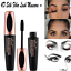 Mascara-Waterproof-4D-Silk-Fibre-Eyelashes-Lash-Make-Up-Long-Lasting-Extension thumbnail 1