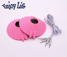 ELECTRIC MASSAGE BREAST PASTE ELECTRO SHOCK NIPPLE CUPS CLIMAX CHEST ENHANCEMENT