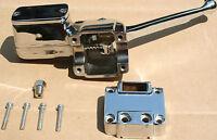 Harley Shovelhead Xl Complete Front Master Cylinder Kit 1972-1981 Chrome 336