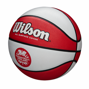 ENGLAND BE CLUTCH BASKETBALL LIMITED EDITION SIZE 27.5 *CLEARANCE NEW* WILSON
