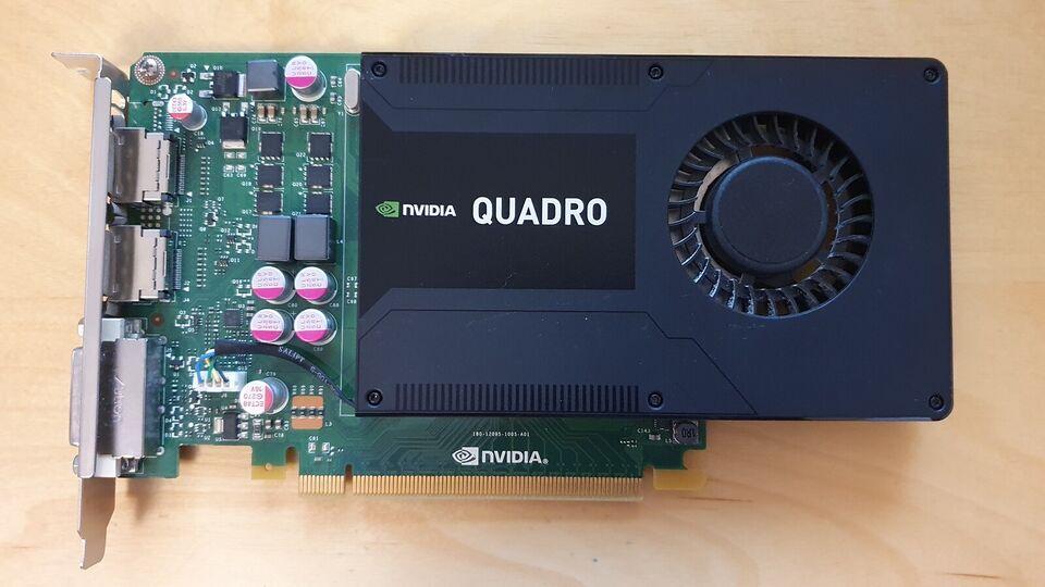 Quadro K2000 nVidia, 2 GB RAM, Perfekt
