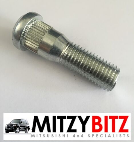 MITSUBISHI PAJERO SHOGUN MK3 MK4 3.2 DID FRONT OR REAR WHEEL HUB BOLT STUD