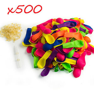 Water-Balloons-Refill-Pack-500-Water-Balloons-500-Rubber-Bands-2-Refill-Tools