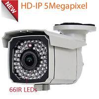 5mp Ip Outdoor Poe 66ir Outdoor Security Camera 2.8-12mm Varifocal Lens System
