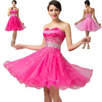 Short Formal Homecoming Prom Gown Evening Party Cocktail Ball Bridesmaid Dress