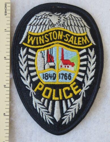 WINSTON SALEM NORTH CAROLINA POLICE PATCH Vintage ORIGINAL