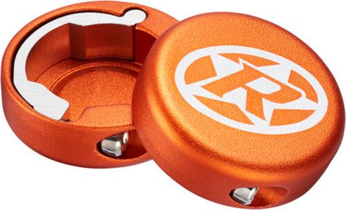 Reverse Griff Endkappen geschlossen 2 Stück orange