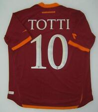 MAGLIA ROMA TOTTI 2006/2007 SHIRT ROMA JERSEY AS ROMA JERSEY TOTTI ITALIA TG XL