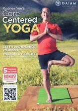 Yoga EXERCISE DVD - Rodney Yee CORE CENTRED YOGA - 5 Workouts!