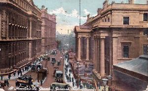 Vintage St. Martins Le Grand General Post Office Fine Art Post Cards.  Shureys
