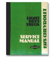 1978 Chevy Truck Shop Manual