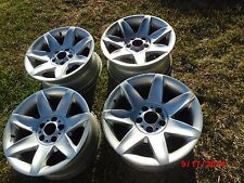 """BMW E39 Genuine sport 17"""" alloy spoke wheels rims 540i 530i 525i 528i 535i 530d"""