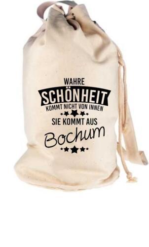 Seesack Wahre Schönheit kommt aus Bochum Sporttaschen & Rucksäcke