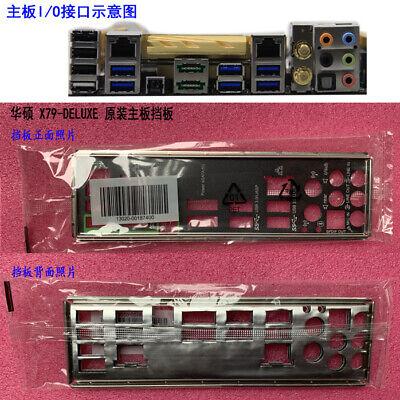Original  ASUS I//O IO SHIELD BLENDE BRACKET P9X79 DELUXE