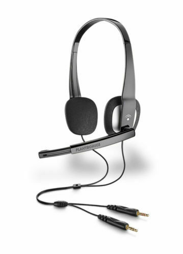 Plantronics Audio 320 Stereo PC Headset with 2 X 3.5mm audio plug for Skype Chat