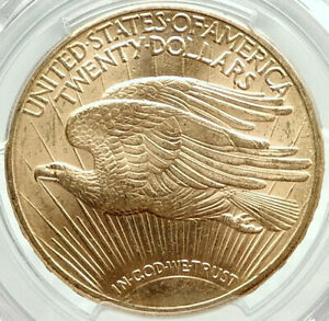 1910-D-UNITED-STATES-US-Saint-Gaudens-Gold-Double-Eagle-Coin-PCGS-MS-64-i75900