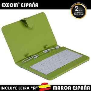 Funda-con-Teclado-en-Espanol-para-Tablet-Pc-7-034-CoverPAD-X70-FUNDA-Marca-Espana