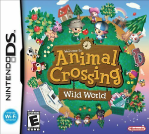 NEW-Sealed-Animal-Crossing-Wild-World-for-the-Nintendo-DS-Lite-DSi-XL-3DS-2DS