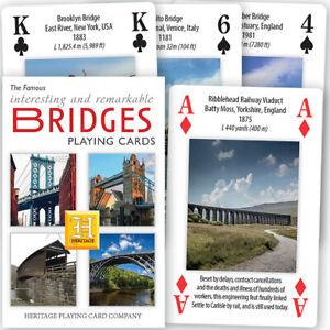 Famous-Bridges-Deck-of-52-Playing-Cards-Jokers-hpc