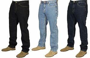 New-Mens-Farah-Classic-Jeans-In-Light-Blue-Pants-Indigo-Denim-Blue-Colours-30-40