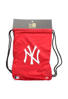 New Era Mlb Gym Sack Ny Yankees Rot Preisnachlass
