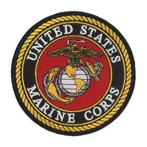 44bedac2ab2 Image is loading US-United-States-Marine-Corps-Patch-USMC-Korea-