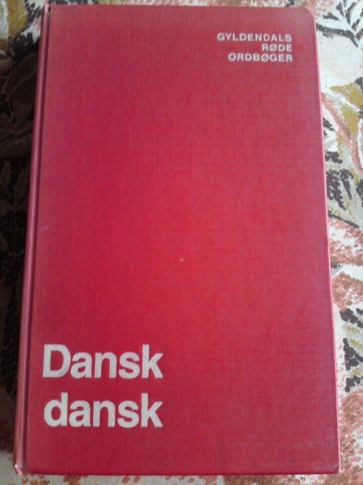 dansk gyldendal ordbog