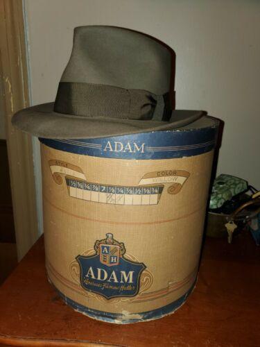 Vintage adam majestic fedora 30s/40s?? Size 71/4 s