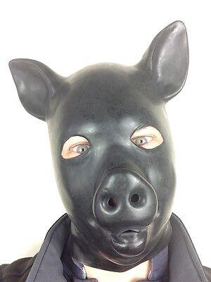 Pig Full Head Mask Farm Animal Piggy Stag Do Fancy Dress Accessory Adult