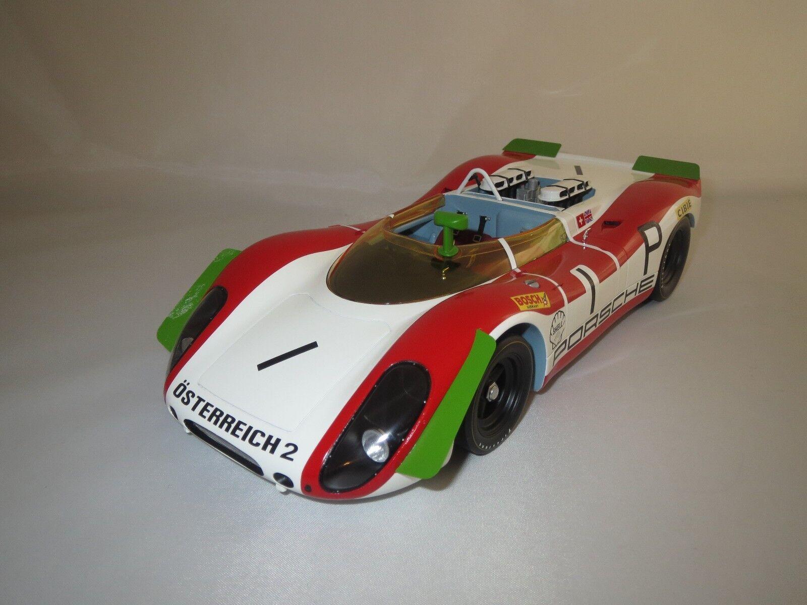 Minichamps Porsche 908 02 Spyder  1  Nürburgring' 69 69 69  1 18 sans emballage b801df