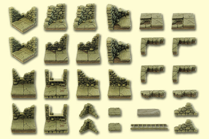Dvärven Forge Master Maze Ruins Set NY IN låda förseglad MM -037 OOP D &D
