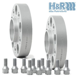 Spurverbreiterung-H-amp-R-DRA-80957160-80mm-LK-5x-130-Audi-Q7-VW-Toureg-Cayenne