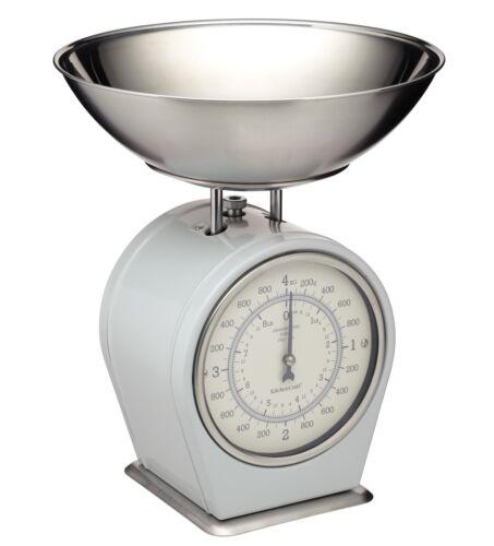 Kitchencraft Living nostalgie mécanique balance de cuisine 4 kg Français... 8 lb
