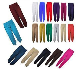 Ninas-Ninos-Chicos-Haren-Pantalon-Ali-Baba-Leggings-Pantalones-Baile-Pantalones-5-13