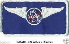 NASA WINGS  PATCH -  NASA10