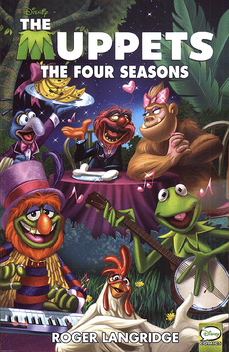 MUPPETS: FOUR SEASONS TPB (2012 Series) #1 Near Mint