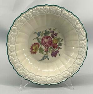 C140-Elfenbein-Porzellan-Plate-Obst-Schale-Cake-Weiswasser-Floral-Decoration