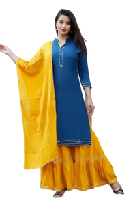 Red Indian Bollywood Traditional Ethnic Salwar Suit With Pant Embroidery work Salwar Top With Palazzo Gift For Women and Girl