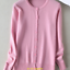 Women-Girl-Crew-Neck-V-neck-Solid-Color-Cashmere-Sweaters-Spring-Cardigans-Tops thumbnail 32