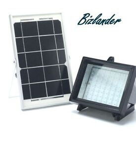 Bizlander Outdoor 10 W 108LED Solaire Powered Flood light commercial Light