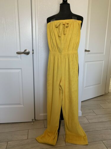 Vintage Terry Cloth Jumpsuit California Terries