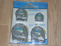 Workforce 4 Piece Tape Measure Set 3-12-16-24 Ft