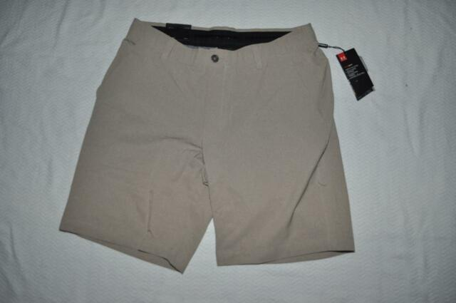 Under Armour Showdown Vented Men's Golf Shorts 1309551299 City Khaki Size 36 NWT