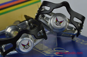 Tommasini pedals dust caps fit campagnolo super record gipiemme nuovo new old