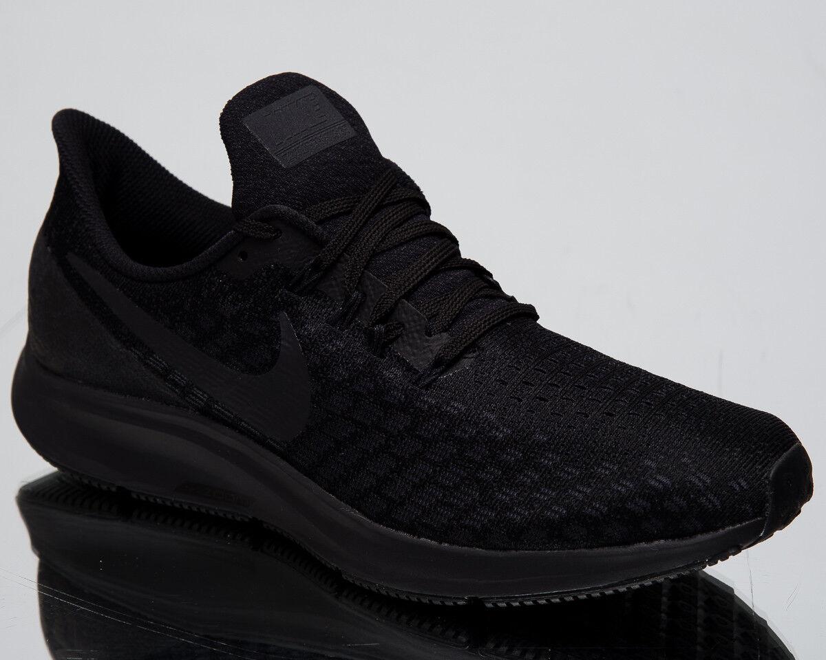 Nike Luft Zoom Pegasus 35 Schwarz Grau Weiß Laufschuhe