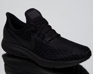 ab072f8ca5b72f Nike Air Zoom Pegasus 35 Men s Black Oil Grey White Running Shoes ...