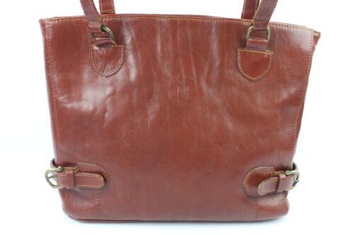 Paris Ysa Vintage goede Shopping Leer tas staat Cognac Zeer ZPTOiukX