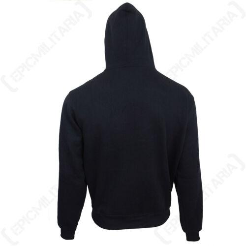 American Jumper Top Sweater Naval Military Zipper Dark Blue US Navy Gym Hoodie